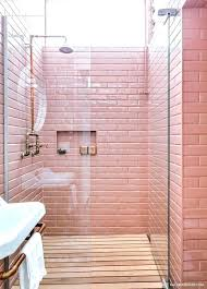 pink bathroom ideas probably the worst thing to happen a tile decorating