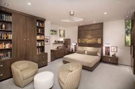 modern master bedrooms interior design. Contemporary Master Bedroom With Carpet, Wall Sconce, Built-in Bookshelf, Lazar Industries Modern Bedrooms Interior Design T