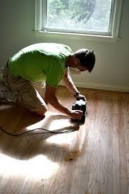 sanding wood floors with belt sander
