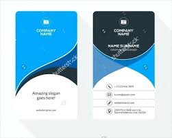 Identity Card Format For Student Identity Card Template Practical Vector 2 Background Doc