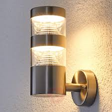 stainless steel led outdoor wall light lanea 9988005 31