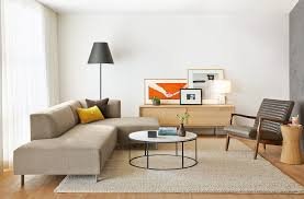 room and board sectional popular york modern sectionals living furniture within 3