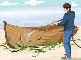 image titled paint a boat step 1