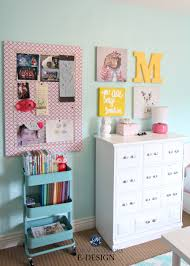 Ikea Hack Raskog Cart, Girls Bedroom Decorating And Storage, Organizing  Ideas For Books. Teal, Pink And White Palette. Kylie M E Design