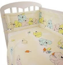 """<b>Комплект постельного белья Polini</b> """"Мишки"""", 120х60 желтый в ..."""