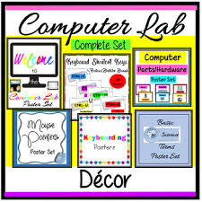 Computer Lab Posters Worksheets Teachers Pay Teachers