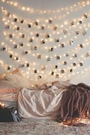 with fairy lights