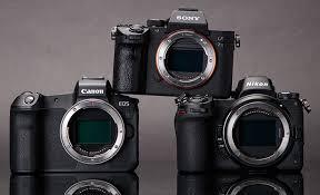 full frame camera market in an