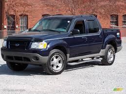 2003 True Blue Metallic Ford Explorer Sport Trac Xlt 4x4 17961034