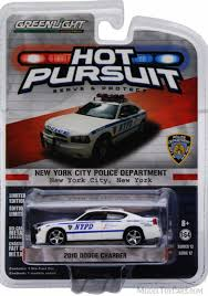 Green Light Cop Cars Nypd 2010 Dodge Charger Police Car White Greenlight 42690d 1 64 Scale Diecast Model Toy Car