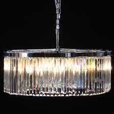 extra large prism drop round cascade chandelier