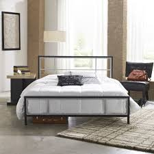 Image of: New Queen Metal Bed Frame