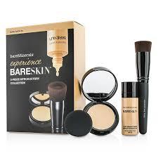 bareminerals experience bareskin kit 06 bare satin 1x mini foundation 1x mini pact 1x brush bare escentuals f c co usa
