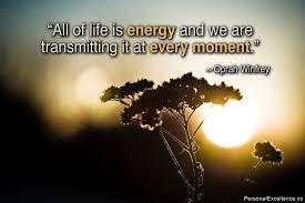 Life Energy Quotes
