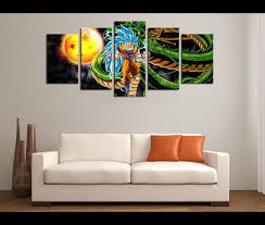 Dragon Ball Z Decorations 100 Piece Canvas Art Dragon Ball Z Anime Canvas Prints Wall Art 88