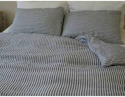 home decor alluring pinstripe duvet cover combine with navy and throughout lovable blue and white