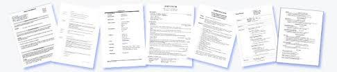 Curriculum Vitae Cv Examples