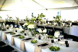 Rectangle Tables Wedding Reception Rectangle Table Centerpieces Closed Centerpieces For