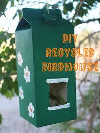 Diy Birdhouse Diy Recycled Birdhouse Earth Day Craft Beansters Bytes