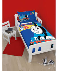 thomas the tank engine team 4 in 1 junior bed set quilt pillow and