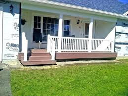 wood front porch railing designs by simple deck ideas options wood front porch railing