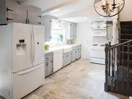 Kitchen Flooring Stone Kitchen Room Design Ideas Black Leather Upholstery Modern Bar