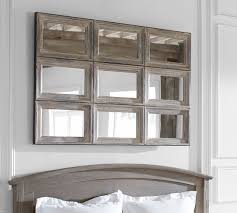 aiden extra large paneled wall mirror