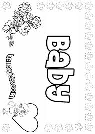 Small Picture Baby coloring pages Hellokidscom