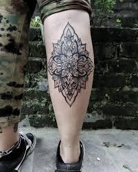 Leg Flower Mandalaornamental Tattoo Sumina Shrestha Best Female