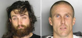 "Howard Sanders, 26, left, and Curtis Darnell, 36. ""Like an adrenaline rush, 'Hey guys come out here, come out here, they're there,"" Pastor Jeff told CBS13. - copper-thefts"