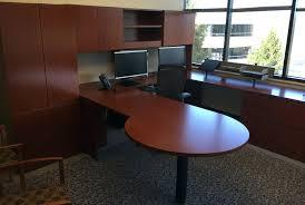 huge office desk. Huge Office Desk. Delighful Desk Elegant Knoll Executive Reff P Top For W