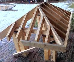 small porch roof framing