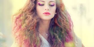 hair chalk how to chalk dye your hair with crayons best ideas