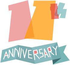 11th anniversary clip art