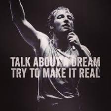 Bruce Springsteen's Lyrics on Pinterest | Bruce Springsteen, Born ... via Relatably.com