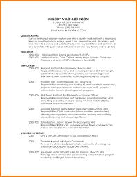 29 Highschool Resume Template Educational Resume Template