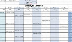 Printable Work Schedule Templates Free Free Printable Work Schedule Calendar Lacse Info