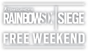 Free Weekend | Tom Clancy's Rainbow Six Siege | Ubisoft® (US)