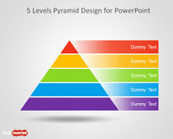 Free 5 Level Pyramid Template For Powerpoint Free Powerpoint