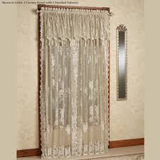 burdy curtains with attached valance