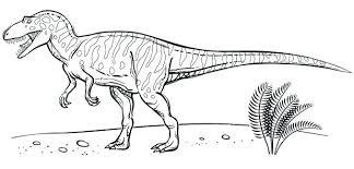 Dinosaur Bones Coloring Pages Printable Free Cute Skeleton