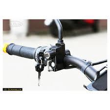 sato racing helmet lock handlebar master cylinder mount 32mm mounting centers 8mm mirror mount
