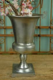 Metal Trophy Vase 11.5