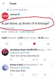 "Pritpal Panesar on Twitter: ""The Diljit Effect @diljitdosanjh  #DiljitVsKangana #DiljitRocks #KisaanKiBaat #Zomato… """