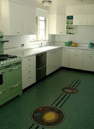green kitchen floor unique awesome retro kitchen flooring green within ordinary dianas 10 yes of green