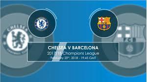 Chelsea v Barcelona - Head to Head