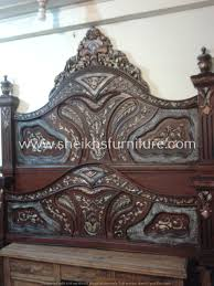 Chinioti Bed Designs 2019 This Is Our Solid Rosewood Bed This Bedroom Set Is Made In