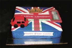 Send London Theme Cake To Gurugram Online Buy London Theme Cake