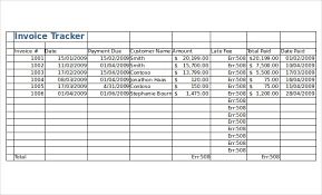 Excel Payment Tracker Template Receipt Tracker Excel Magdalene Project Org