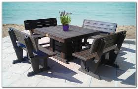 Wonderful Recycled Picnic Tables Frog Furnishings Recycled Plastic Recycled Plastic Outdoor Furniture Reviews